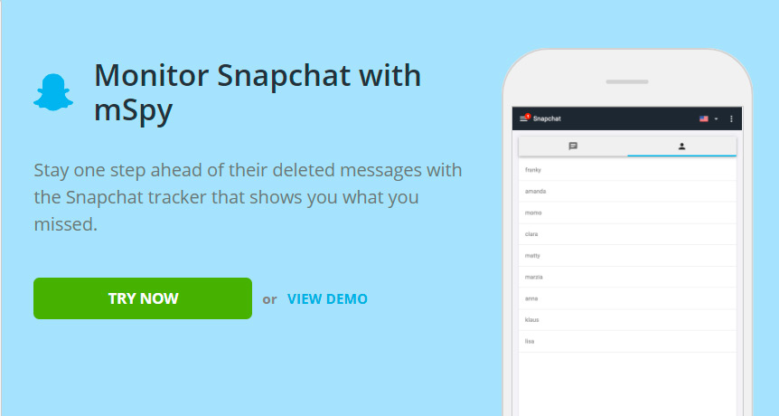 Snapchat email tracker